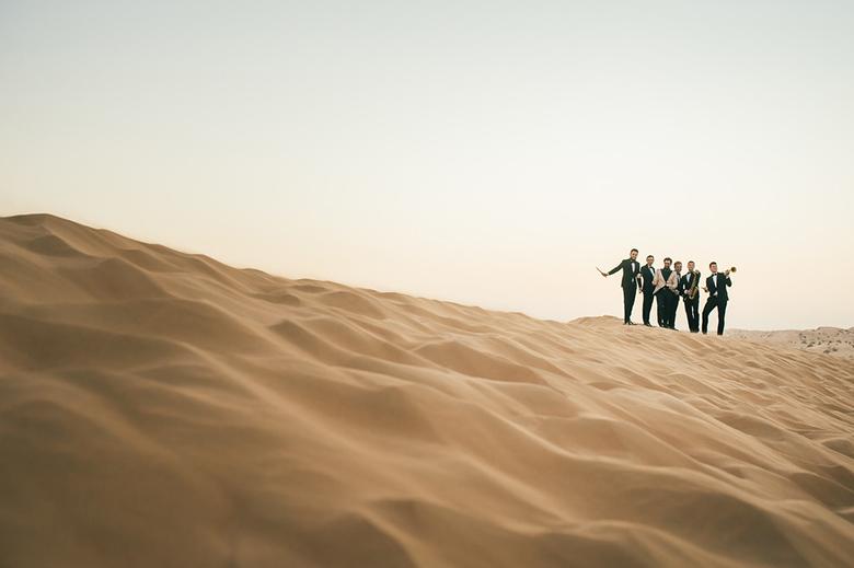 Mark Zitti e i fratelli coltelli - Desert Shooting-198-XL